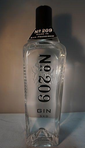 No 209 Gin San Francisco 92pf 750ml