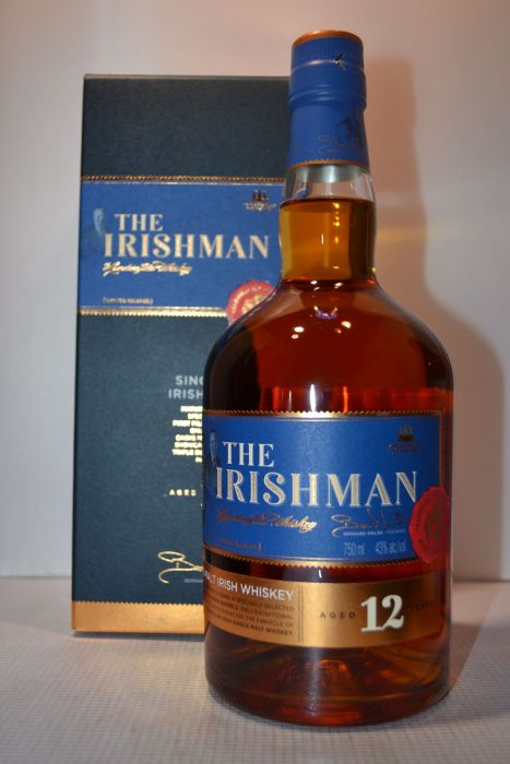 The Irishman Whiskey Single Malt Irish 86pf 12yr 750ml