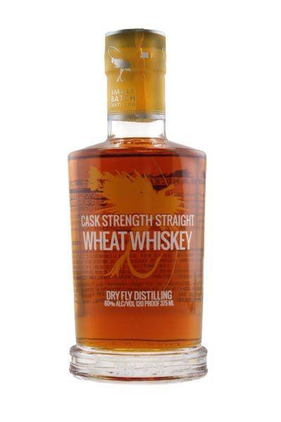 Dry Fly Whiskey Wheat Cask Strength Washington 120pf 750ml