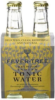 Fever Tree Tonic Water 4x7oz Bot