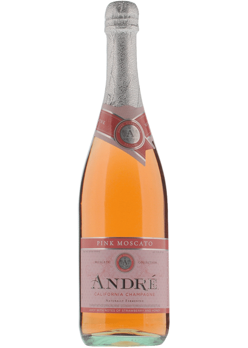 Andre California Champagne Pink Moscato 750ml