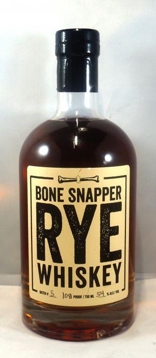Bone Snapper Whiskey Rye Kentucky 108pf 750ml