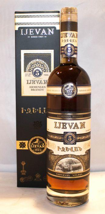 Ijevan Brandy Armenia 5yr 750ml