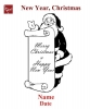 Engraving Christmas #3