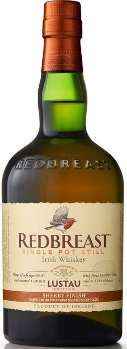 Redbreast Whiskey Single Pot Still Lustau Edition Irish Sherry Finish 92pf 750ml