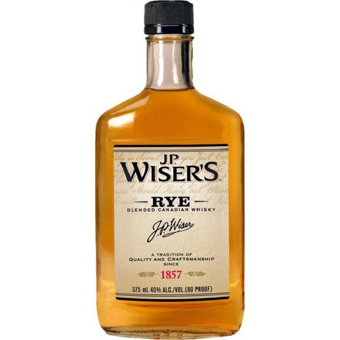 J P Wisers Whiskey Rye Canada 375ml