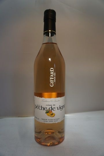 Giffard Creme De Peche De Vigne Liqueur 750ml