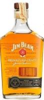 Jim Beam Bourbon Whole Rolled Oak Signiture Craft Kentucky 90pf 11yr 375ml