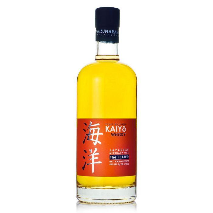 Kaiyo Whiskey The Peated First Edition Mizunara Oak Un Chillfiltered Japan 92pf 750ml