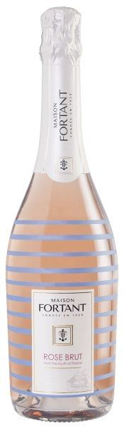 Maison Fortant Sparkling Wine Rose Brut France 750ml