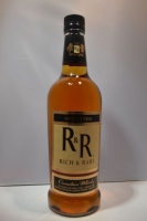R & R Rich Rare Whiskey Blended Canadian 750ml