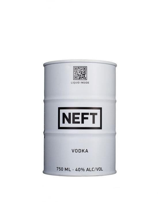 Neft Vodka White Can Austria 750ml