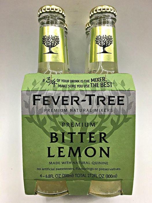 Fever Tree Bitter Lemon 4x7oz Bot