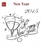 Engraving New Year #1