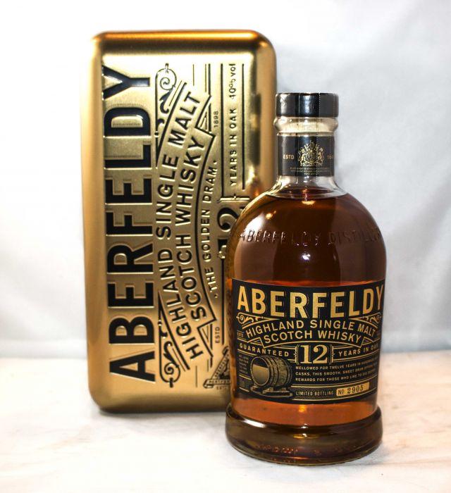 Aberfeldy Scotch Single Malt Highland 12yr 750ml