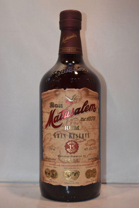 Matusalem Rum Gran Rsv 15yr 750ml