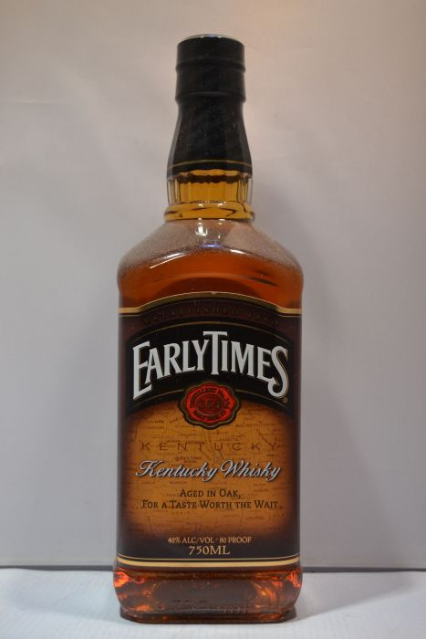 Early Times Whiskey Kentucky 750ml
