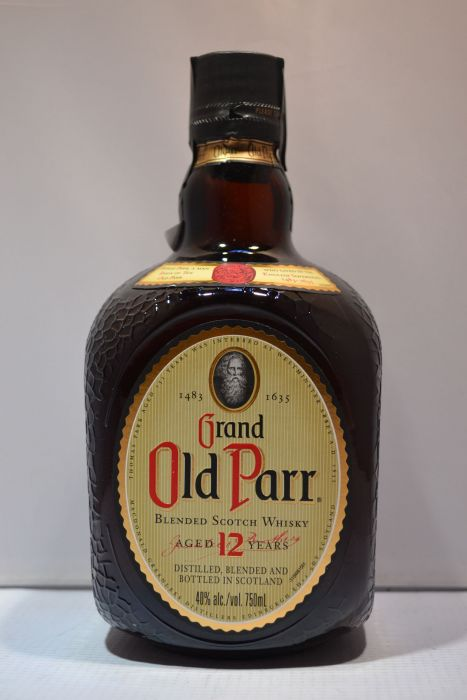 Grand Old Parr Scotch Blended 12yr 750ml