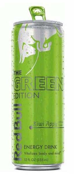 Red Bull The Green Edition Energy Drink 12 Oz