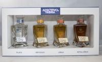 Adictivo Tequila Assorted Plata Reposado Anejo Extra 4x50ml