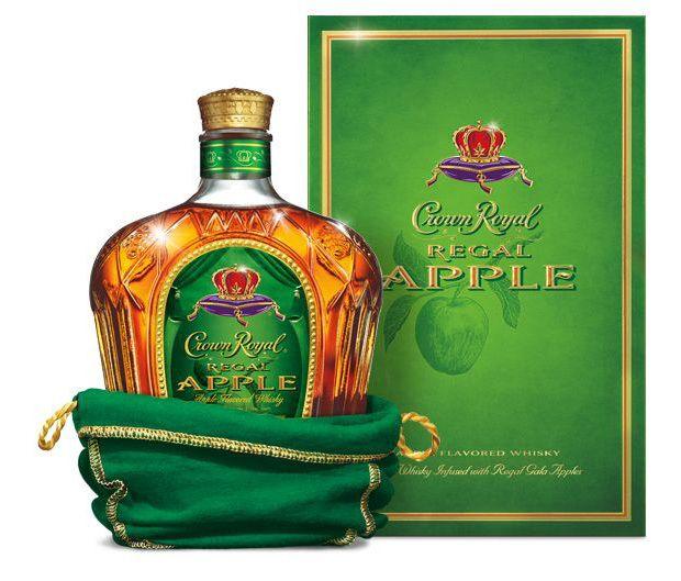 Crown Royal Regal Whiskey Apple 1.75li