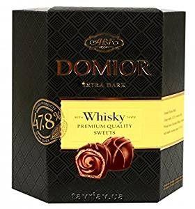 Domior Extra Dark Chocolate With Whiskey 420gm