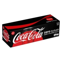 Coke Zero 12x12 Cans