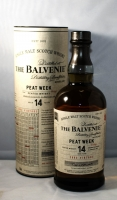 Balvenie Scotch Single Malt Peat Week Speyside 96.6pf 14yr 750ml