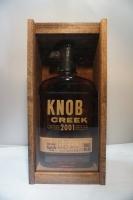 Knob Creek Bourbon Limited 2001 Edition Batch 1 Kentucky 100pf 750ml