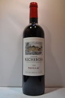 Chateau Richebon Pauillac Grand Vin De Bordeaux France 2010