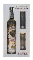 Corralejo Tequila Blanco Gft Pk W/ 2 Glasses 750ml