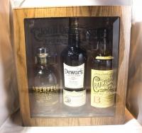 Dewars Scotch Gft In Humidor Box Dewars 12/ Aberfeld 12/ Craigellacjie 13yr 3x750ml