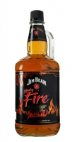 Jim Beam Fire Bourbon Infused Cinnamon Kentucky 1.75li