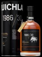 Bruichladdich Old & Rare Scotch Single Malt Islay In Cherry Cask 1986 30 Aged Years 750ml