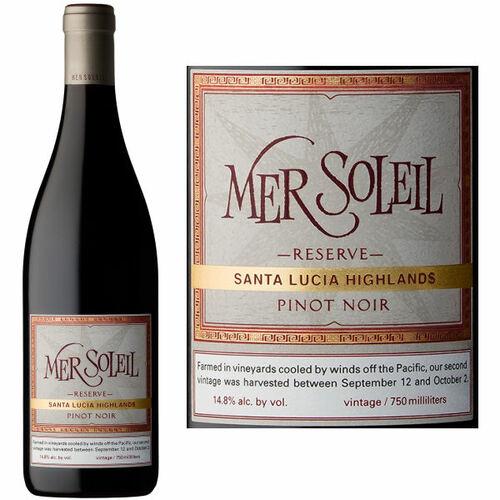 Mer Soleil Reserve Santa Lucia Highlands Pinot Noir 2017 Rated 90VM