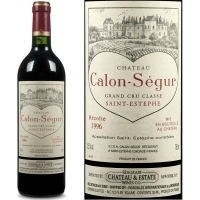Chateau Calon Segur St. Estephe 1996 Rated 91-92JS