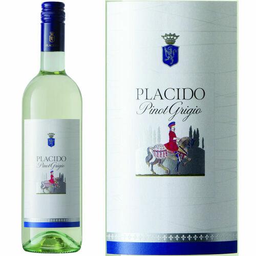 12 Bottle Case Placido Selection Pinot Grigio 2019 (Italy)