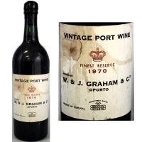Graham's Vintage Port 1970 Rated 91JS