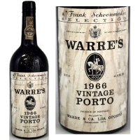 Warre's Vintage Port 1966 Rated 91WS