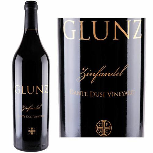 Glunz Dante Dusi Vineyard Paso Robles Zinfandel 2016 Rated 90WA