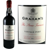 Graham's The Stone Terraces Vintage Port 2017 Rated 100W&S