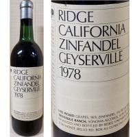 Ridge Trentadue Ranch Geyserville Sonoma Zinfandel 1978