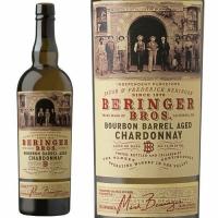 12 Bottle Case Beringer Bros. Bourbon Barrel Aged Chardonnay 2016