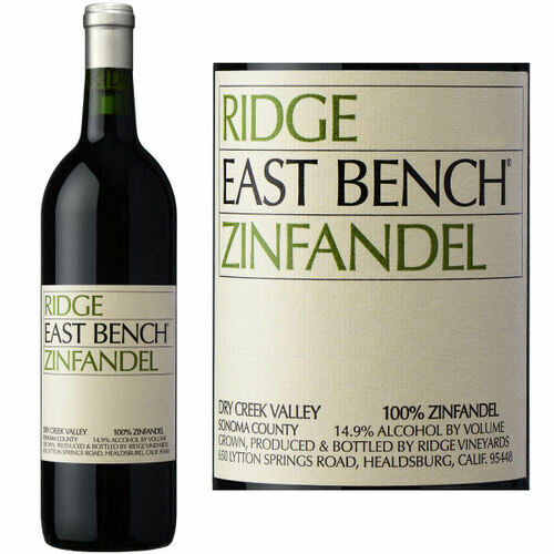Ridge East Bench Dry Creek Zinfandel 2018 Rated 94VM