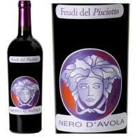 Feudi del Pisciotto Versace Nero d'Avola Terre Siciliane IGT 2015 (Italy) Rated 92VM