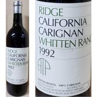 Ridge Whitten Ranch Sonoma Carignan 1992