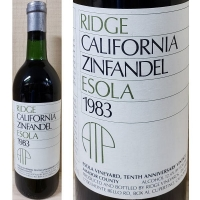 Ridge Esola Amador Zinfandel 1983