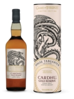 Game of Thrones Limited Edition Cardhu Gold Reserve House Targaryen Scotch Whisky 750ml