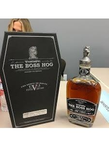 Whistlepig The Boss Hog Spirit of Mauve Fifth Edition Straight Rye Whiskey 750ml