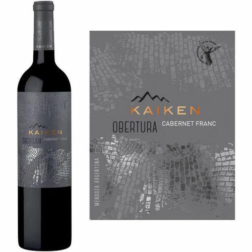 Kaiken Obertura Mendoza Cabernet Franc 2015 Rated 94JS